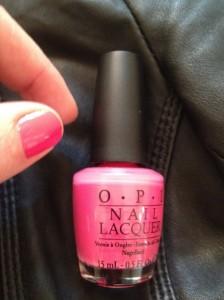 """Strawberry Margarita di O.P.I  M23 per le giornate """"Think Pink"""""""