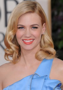 January Jones, la Grace Kelly moderna