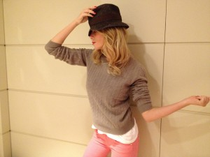 "Un look caldo e comodo con ""Fornarina Perfect Shape"""