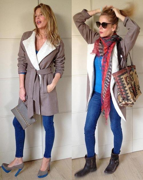 Double look con un trench di Silvian Heach: comodo e poco costoso!