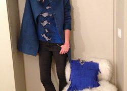 La Pinella goes blue