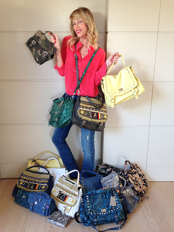Let me show you my new collection of Marks&Angels bags!