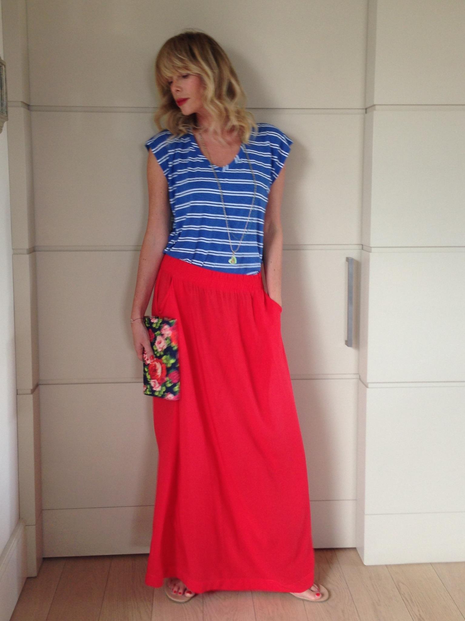 Flowers and Stripes: mix di colori, stampe e tessuti!