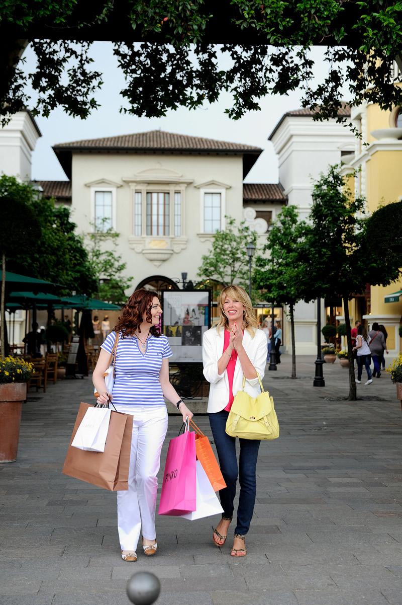 Diario di una giornata di shopping con una di voi