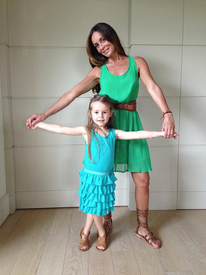 Ezia e Rebecca: verde brrrifidusssss