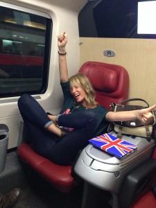 Rome-Milan… Milan-Rome: on the train!!!