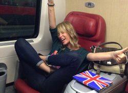 Roma-Milano… Milano-Roma: on the train!!!