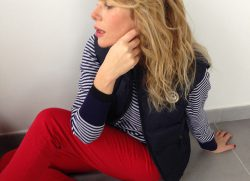 Rosso, bianco e blu: un marinaio perfetto!!