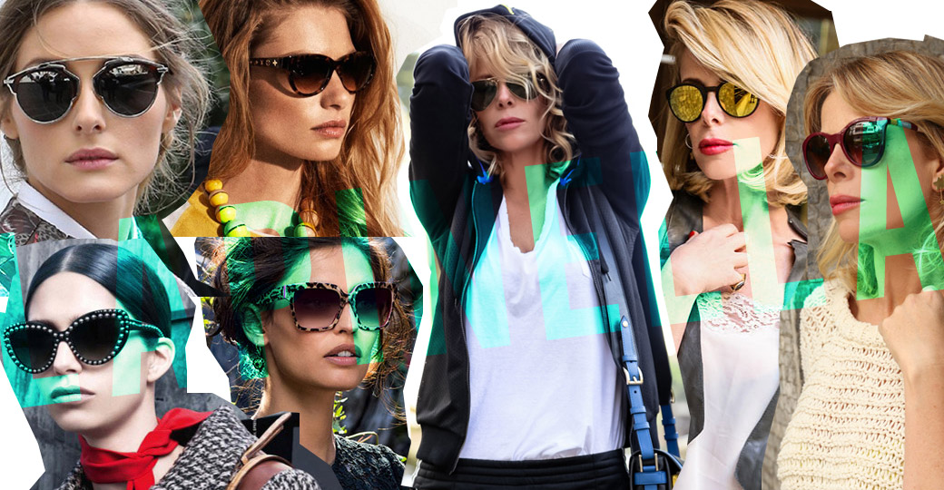 Sunglasses, this summer's trends