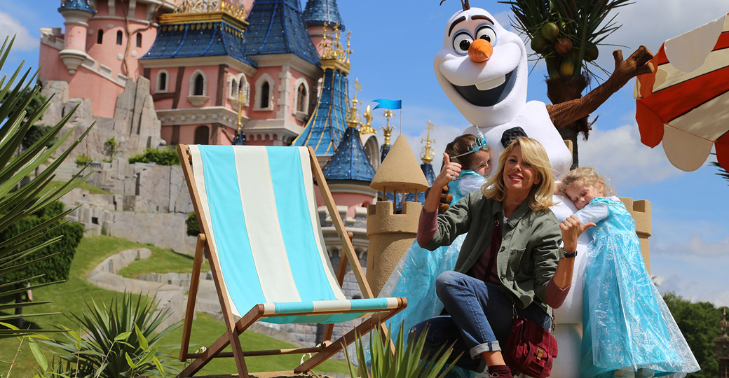 At Disneyland Paris, the summer is Frozen!