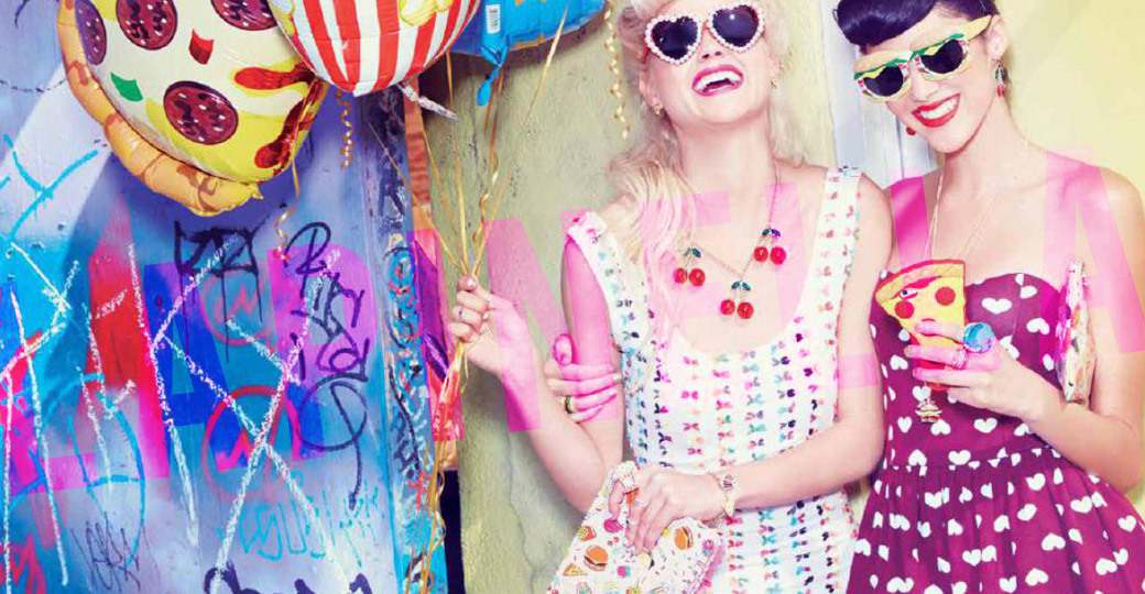 Katy Perry e la moda golosa