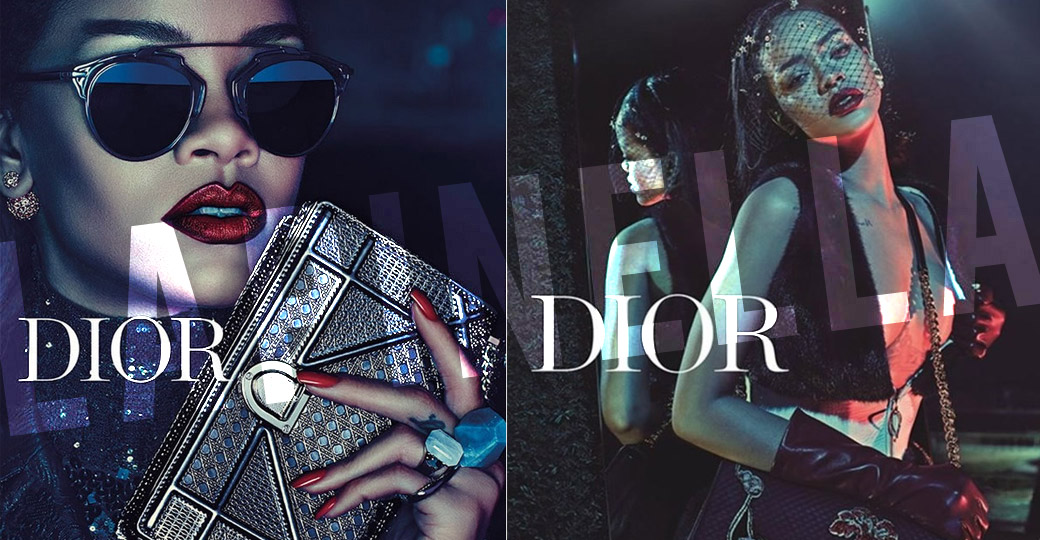 Rihanna and the new Dior campaign!