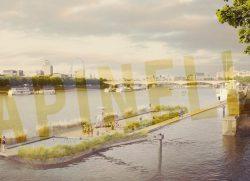 Thames Bath a Londra: una piscina sul Tamigi!