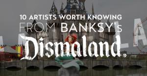"""Street Art: Banksy e la sua """"Dismaland"""""""