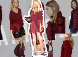 Burgundy: the leading trend for F/W