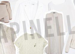In white…
