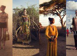 Valentino e McCurry, il volto seducente dell'Africa