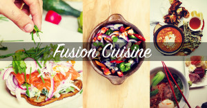 Fusion cuisine: travelling among tastes