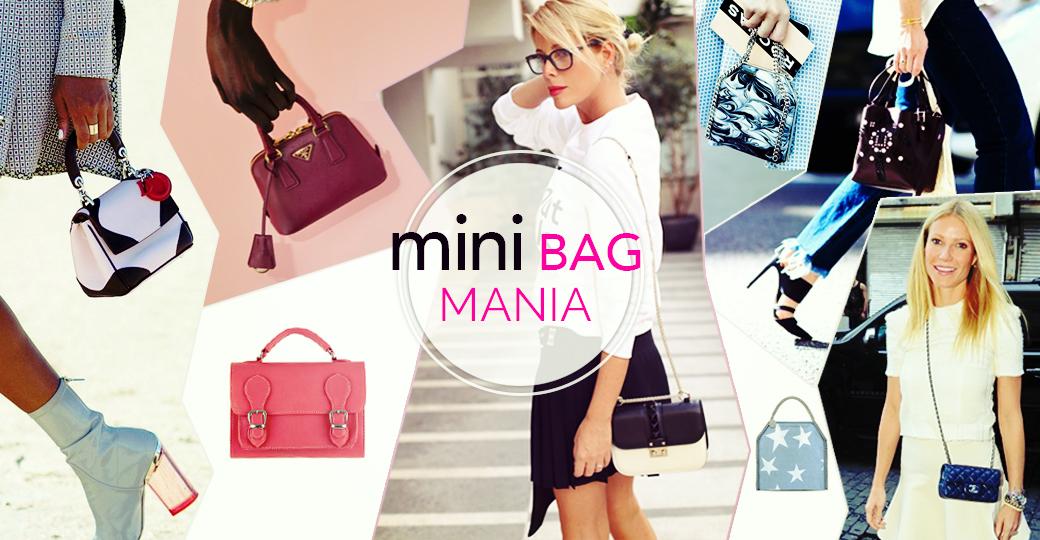 Mini Bag mania: trend 2016