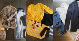 Three looks for the summer…