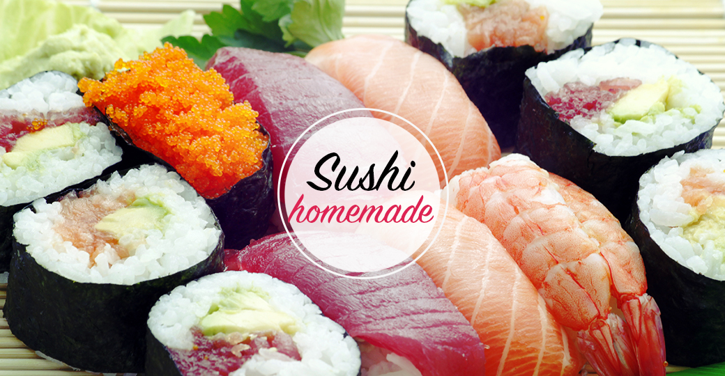 How to prepare homemade sushi
