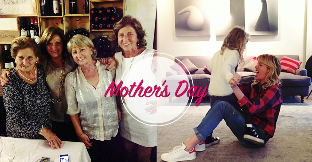 Mother's day: a special moment