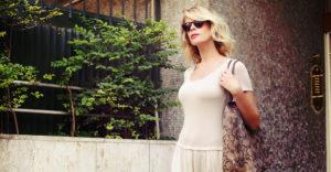 Un abito lungo e leggero… e via in giro per Roma