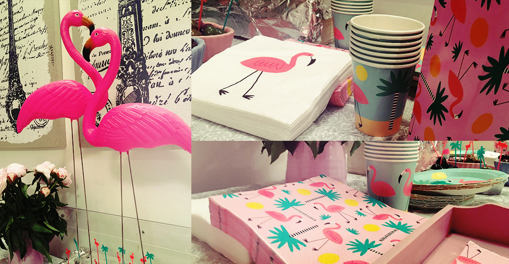 Flamingo mania is a trend again