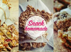 Homemade snack? Granola bars!
