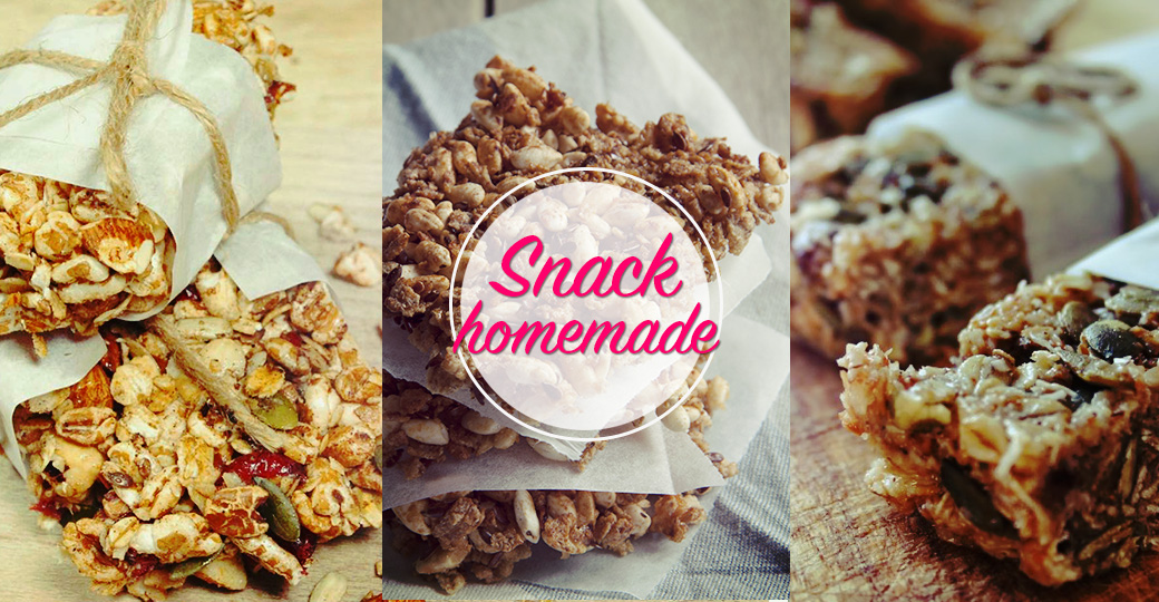 Snack homemade? Barrette ai cereali!