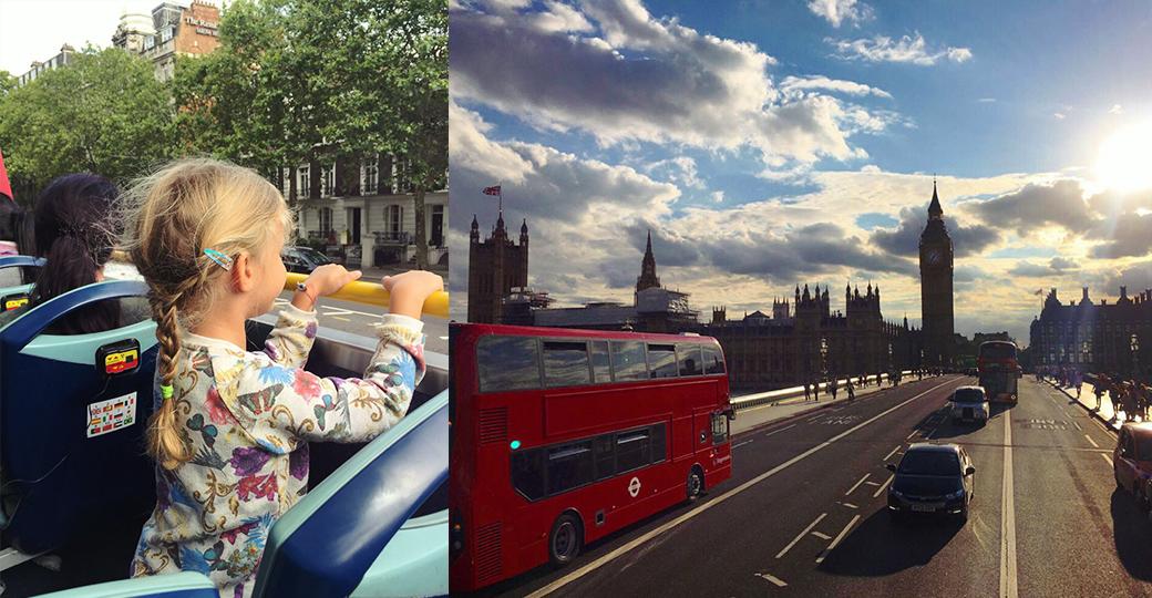 A Londra con i bambini: il mio tour con Mia