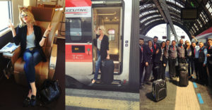 Going to Milan by train… My travel look!