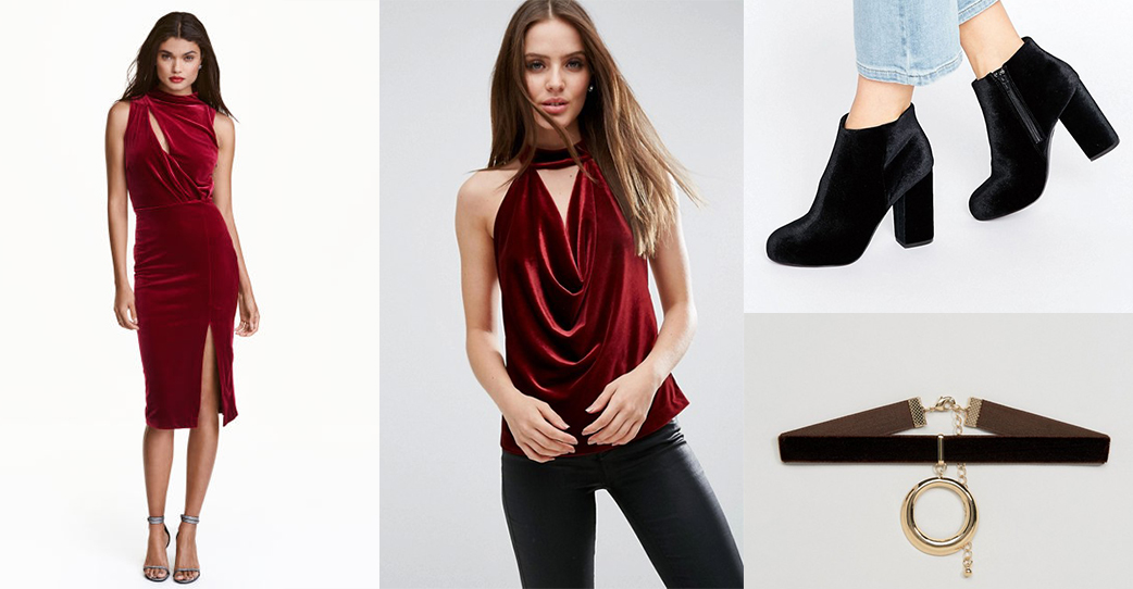 The new trend is velvet