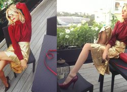 Gold addiction: my sparkling style