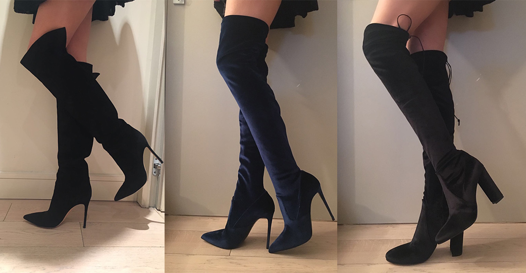 Cuissardes boots: a must for new year's eve!