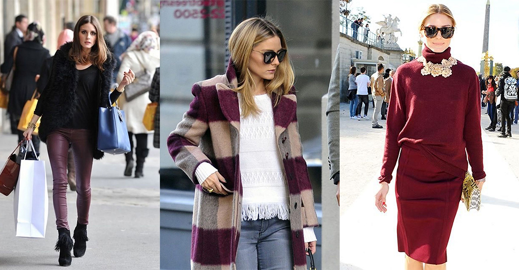 Burgundy is the new Black!