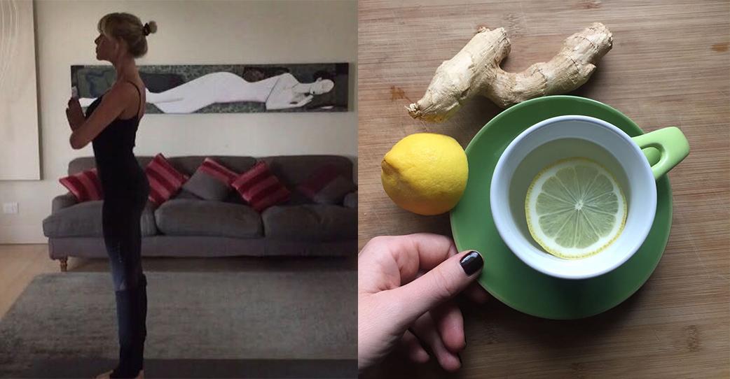 Piccoli segreti mattutini: yoga e zenzero!