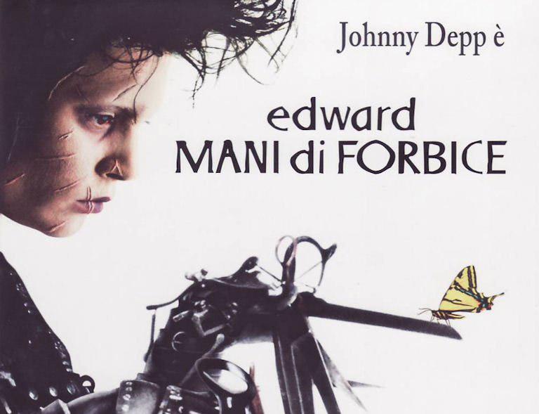 Johnny Depp - Edward mani di forbici