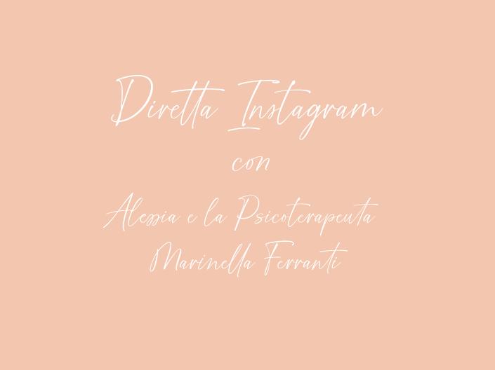 diretta instagram marinella_ la pinella by alessia marcuzzi