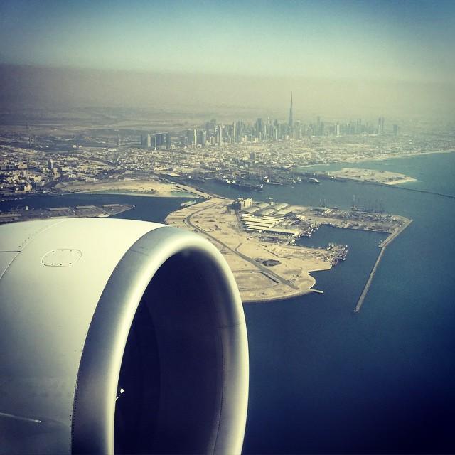 Bye Bye big city, big desert, big buildings, big eyes, big cars, big planes....Big fun ??? #seeusoon